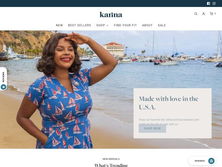 Karina Dresses screenshot