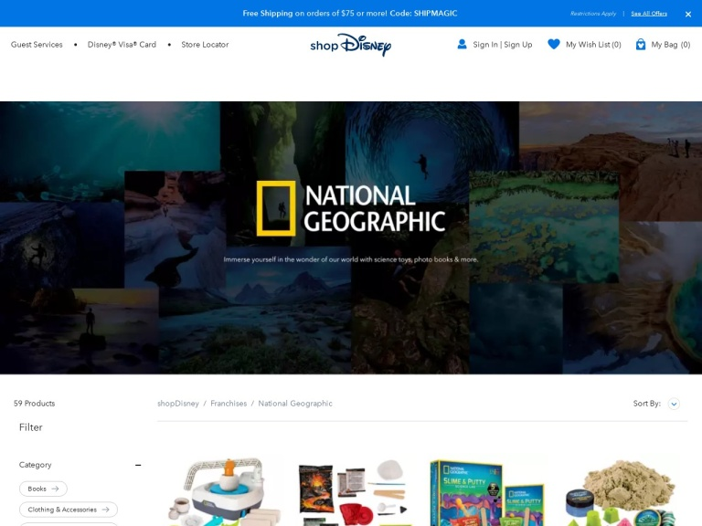Nationalgeographic Online Store Coupon Codes