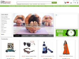 Online store Rediff Shopping