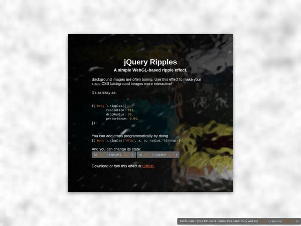 http://sirxemic.github.io/jquery.ripples/