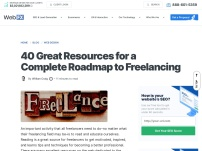 40 Great Resources for a Complete Roadmap to Freelancing