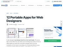 12 Portable Apps for Web Designers