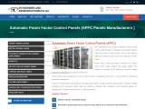 APFC Panels Manufacturers – in Hyderabad – Automatic powe