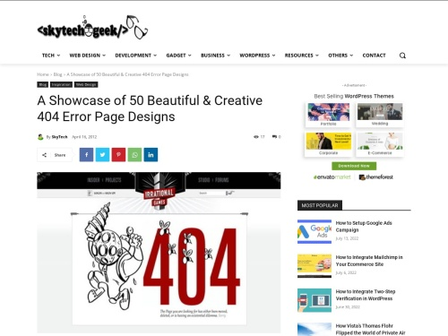 http://skytechgeek.com/2012/04/a-showcase-of-50-beautiful-creative-404-error-page-designs/?utm_source=feedburner&utm_medium=feed&utm_campaign=Feed%3A+skytechgeek+%28Sky+Tech+Geek%29#more-146441