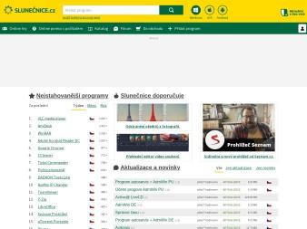 slunecnice.cz screenshot