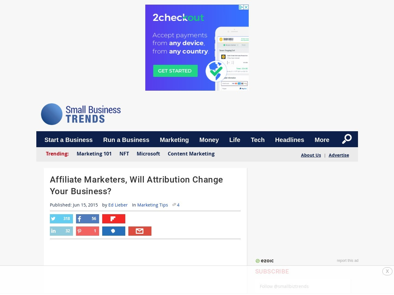 Affiliate Marketers, Will Attribution Modeling Change Your Biz?