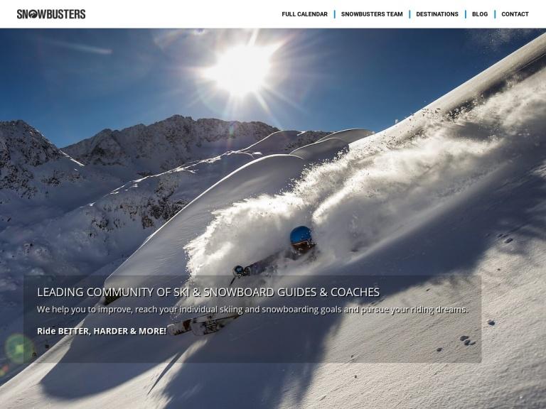 Rock&snow Busters screenshot