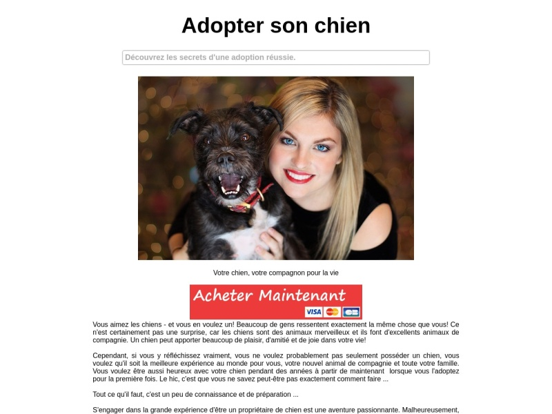 adopter son chien