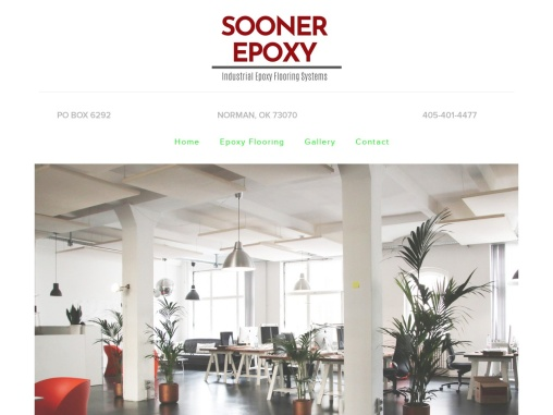 Expert Commercial Epoxy Flooring Services in Arkansas, Kansas, Colorado, Norman, New Mexico | Sooner