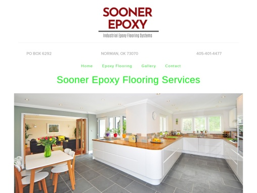 Contact Sooner Epoxy for Commercial, Industrial and Residential Flooring services in Oklahoma