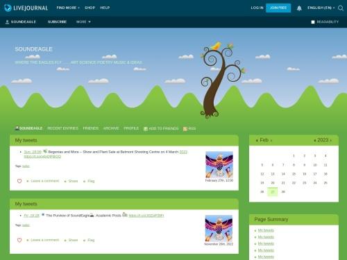 SoundEagle on LiveJournal