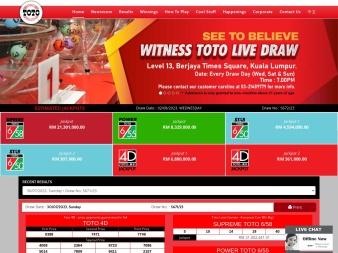 sportstoto.com.my screenshot