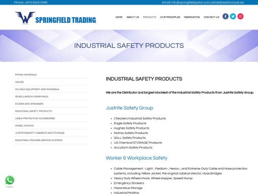 Industrial Safety Equipment Supplier in Qatar