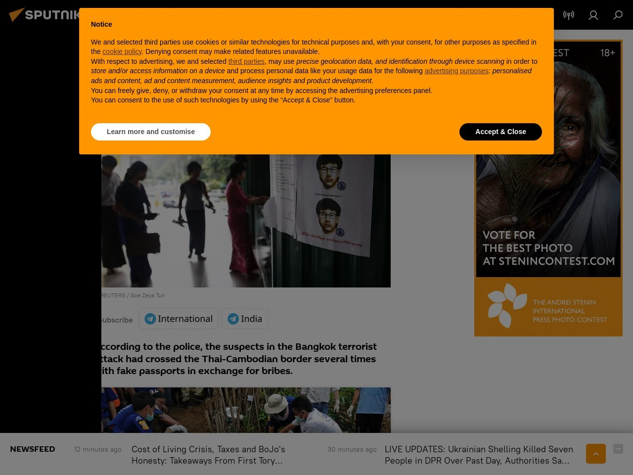 Bangkok Blast Investigation Reveals Corruption in Thai …