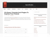 20 jQuery Tutorials And Plugins To Impress Your Friends