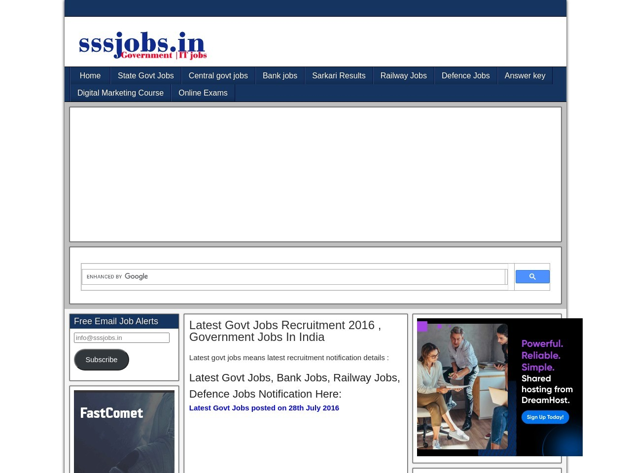 Sarkari Result For Government Jobs