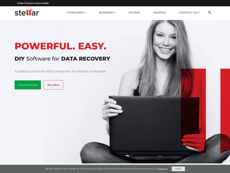 Stellar Data Recovery screenshot