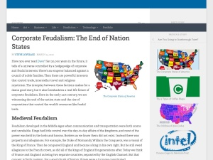 Corporate Feudalism: The End of Nation States — Steve Lovelaceのスクリーンショット