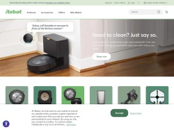 Irobot Eu Affiliate Program screenshot