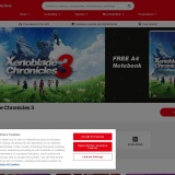 Free Delivery over £20 at Nintendo