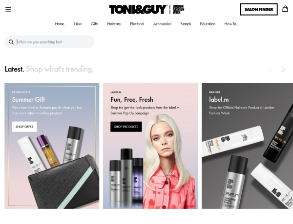 Toni&Guy Discount Codes