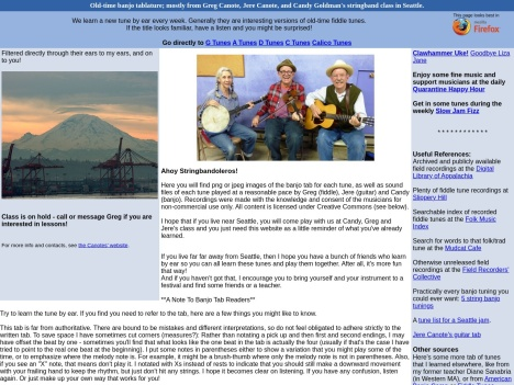 http://stringband.mossyroof.com/#GTunes