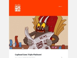Cuphead Goes Triple Platinum! - | Studio MDHR