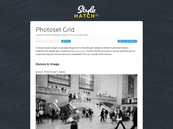 http://stylehatch.github.io/photoset-grid/