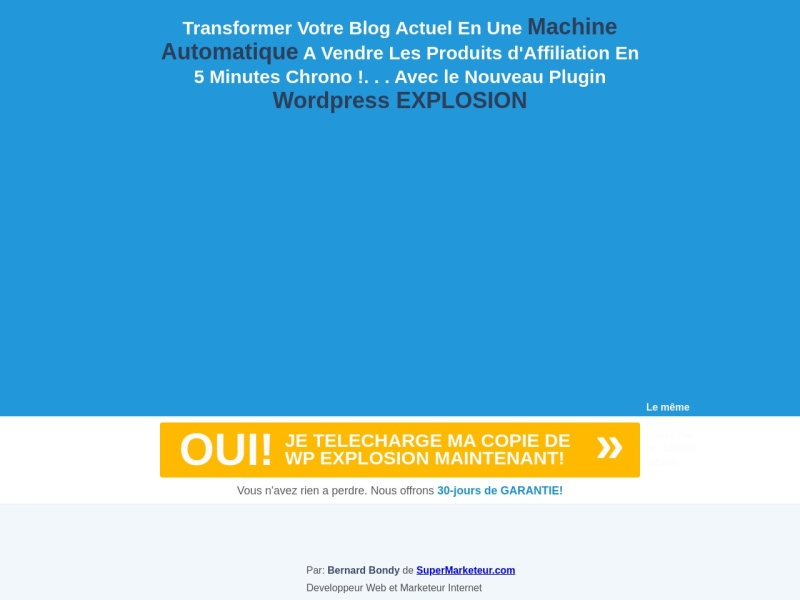 wp explosion explosez les revenus de votre blog
