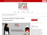 Buy Super MIC B12 – Lose Weight Fast & Incredibly