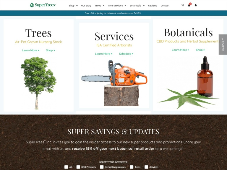 SuperTrees Botanicals Coupon Codes & Promo codes