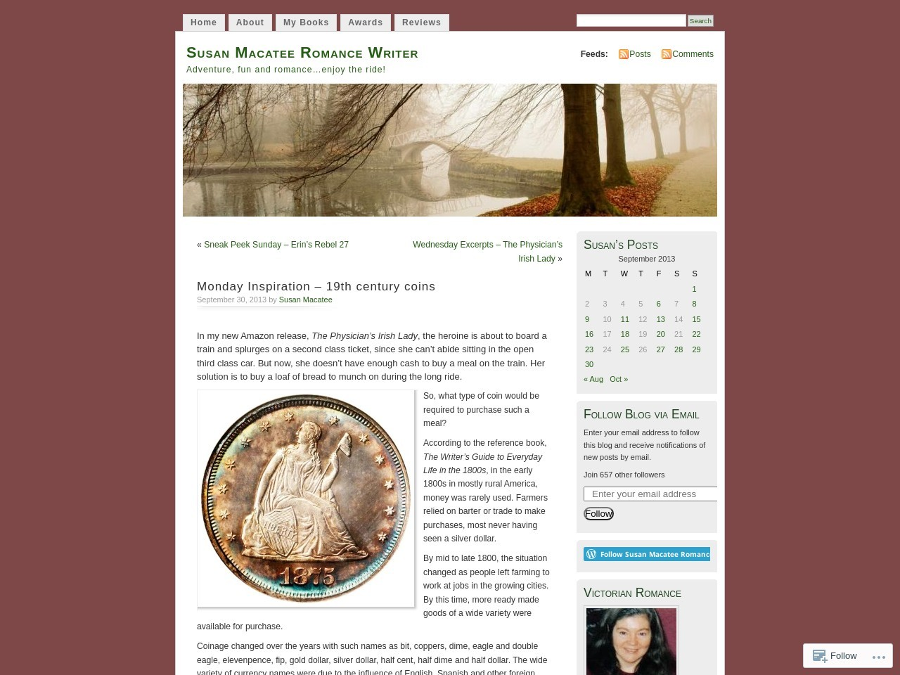 19th century coins – Susan Macatee Romance Writer – WordPress.com