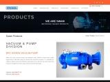 VACUUM & PUMP DIVISION | Swam dry screw vacuum pumps