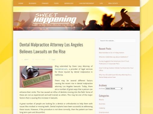 Dental Malpractice Attorney Los Angeles Believes Lawsuits on the Rise
