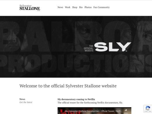 http://sylvesterstallone.com/