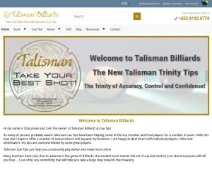 http://talismanbilliards.com