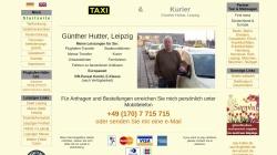 taxi-hutter.de Vorschau, Taxibetrieb & Kurierdienst Günther Hutter