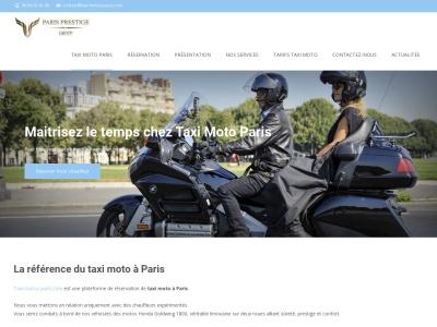 taxi-moto-paris.com : Tours en taxi moto sur Paris