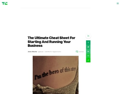 http://techcrunch.com/2013/08/24/the-ultimate-cheat-sheet-for-starting-and-running-your-business