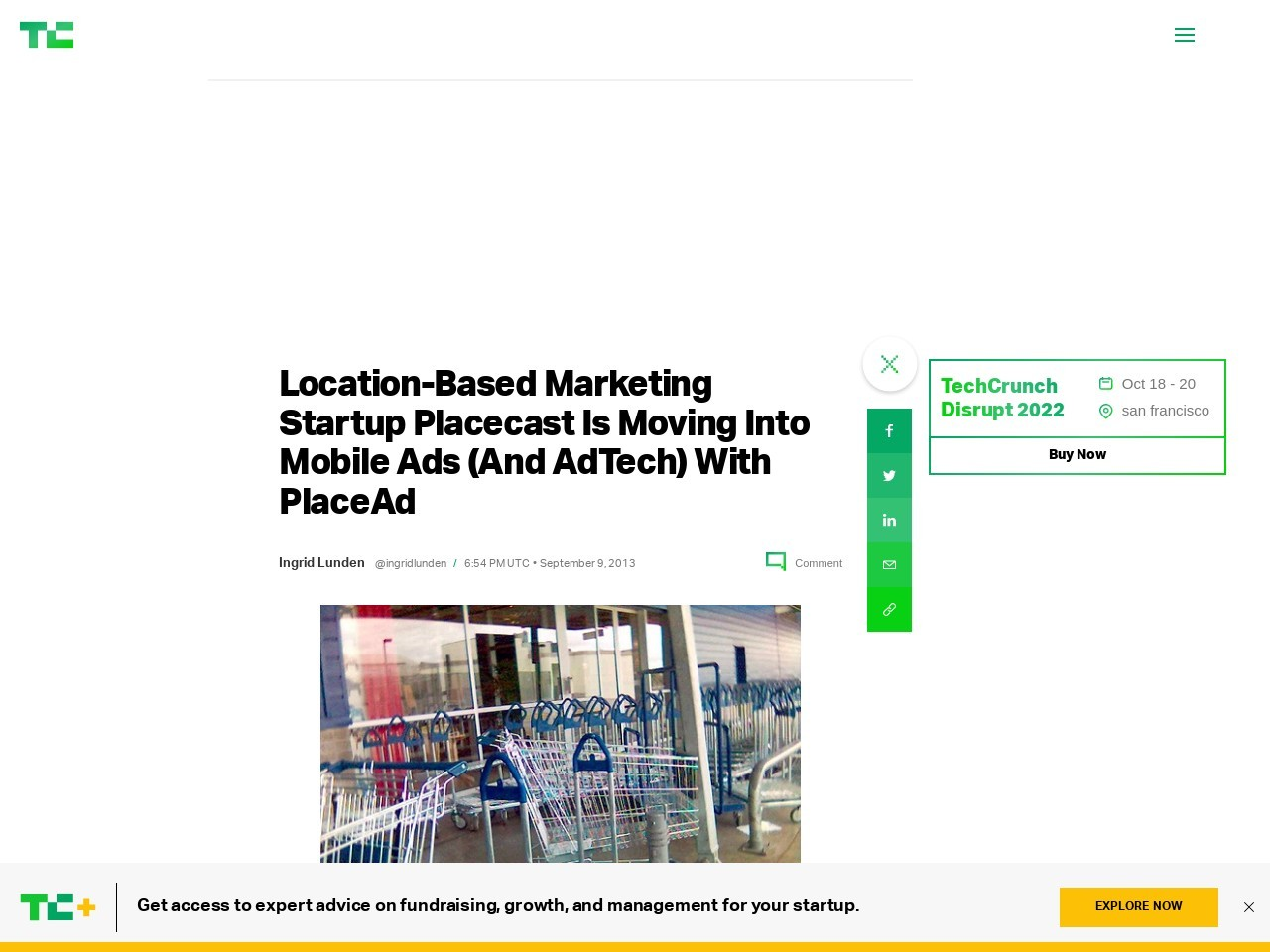 Location-Based Marketing Startup Placecast Is Moving Into Mobile Ads (And …