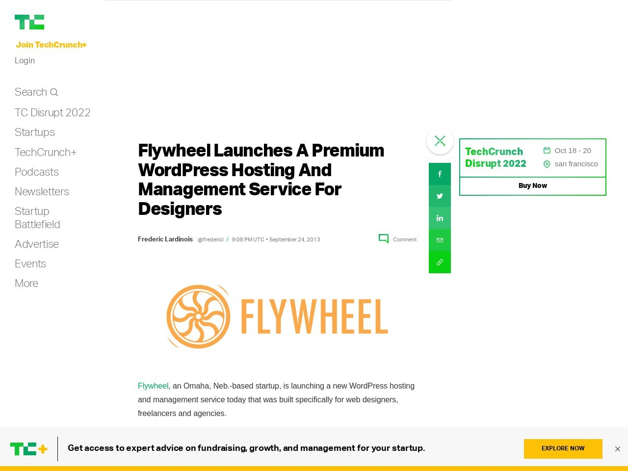 Flywheel Launches A Premium WordPress Hosting And Management Service …
