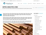 COPPER & BRASS PIPES & TUBES MANUFACTURER IN INDIA