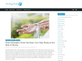 How Antiseptic Hand Sanitiser Can Help Reduce the Risk of Illness
