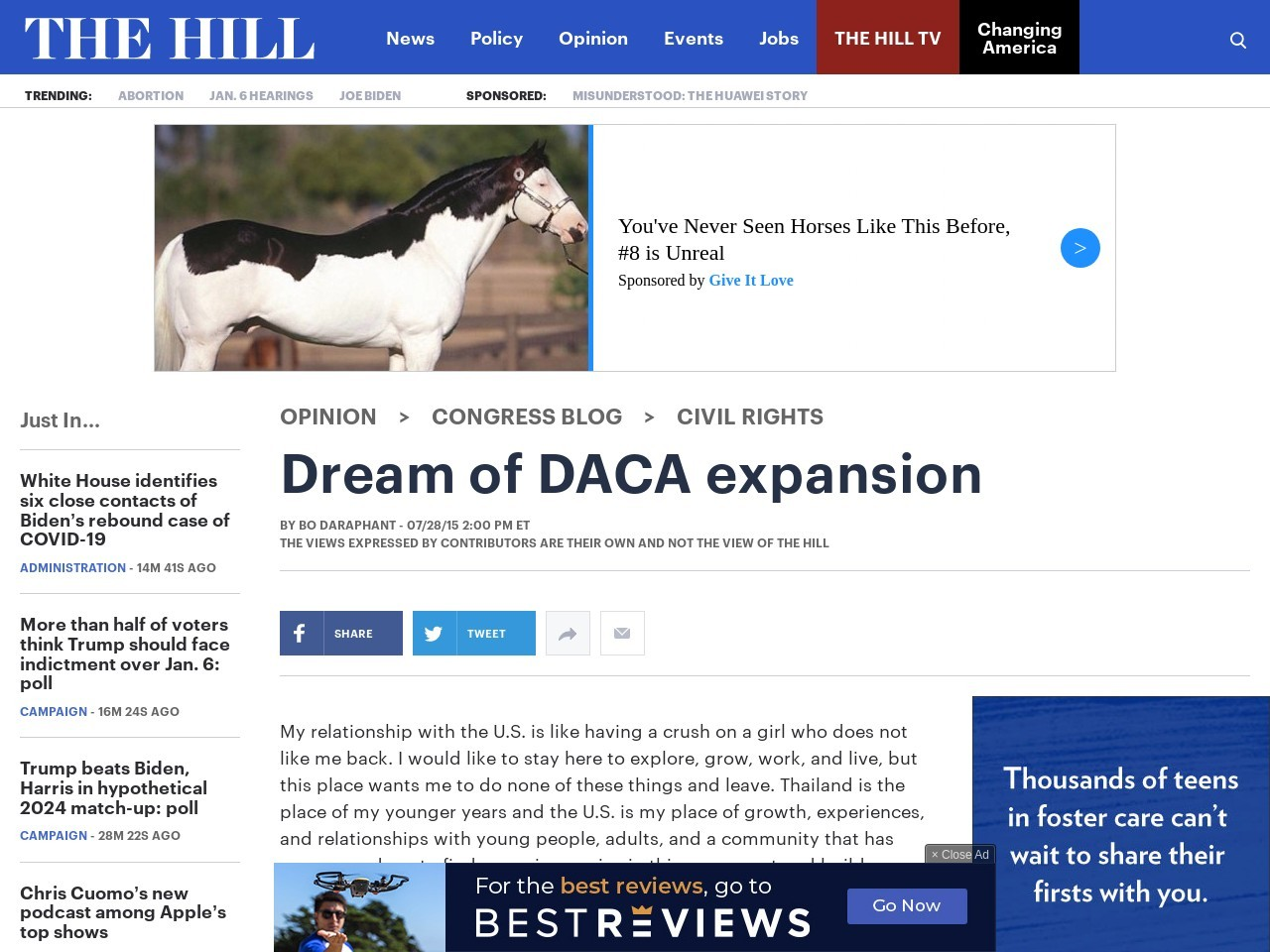 Dream of DACA expansion