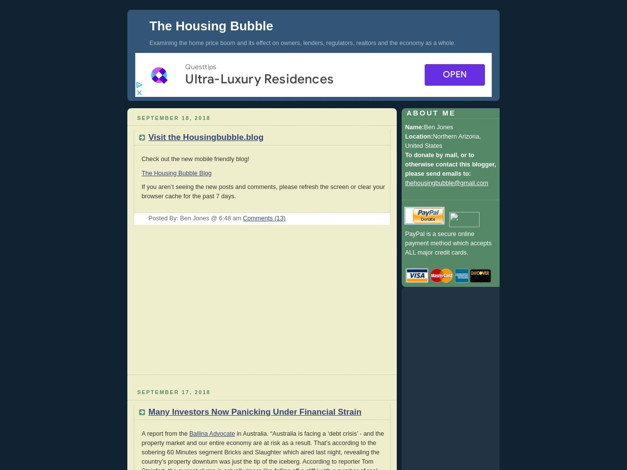 The Housing Bubble Blog » From White To Merely Red Hot