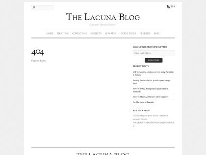 http://thelacunablog.com/ifttt-alternatives.html