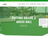 The Outdoor Living Pros Putting Green