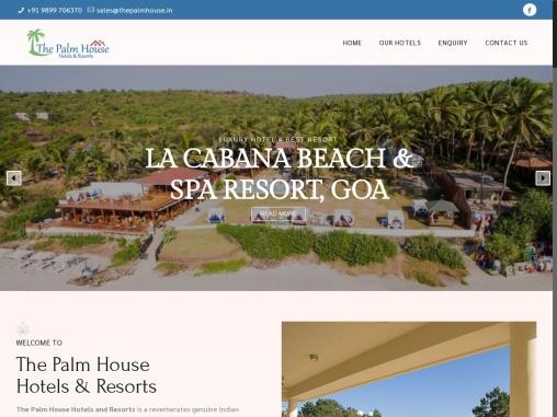 Beach Resort in North Goa | The Palm House La Cabana Goa