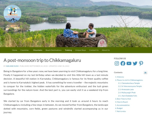 Exciting Things to Do In Chikmagalur