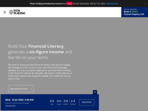 Learn Options Trading-Theta Trading Co   Stock Options Academy
